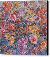 Floral Melody Canvas Print