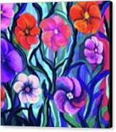 Floral No. 1 Canvas Print by Jeanette Stewart