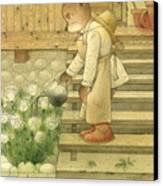 Florentius The Gardener Canvas Print