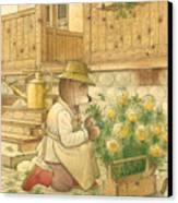 Florentius The Gardener04 Canvas Print