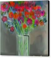 Flores 1 Canvas Print