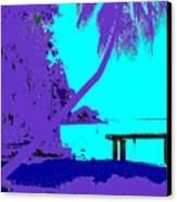 Florida Blues Canvas Print