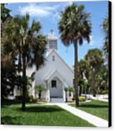 Florida Community Chapel Canvas Print
