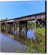Florida East Coast Railroad Bridge Canvas Print