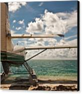 Florida Keys Seaplane Canvas Print by Patrick  Flynn