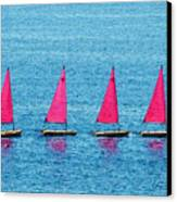 Flotilla Canvas Print