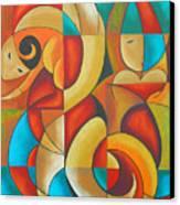 Floutine With Rhythm Canvas Print