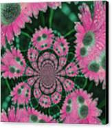 Flower Design Canvas Print by Karol Livote