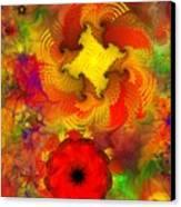 Flower Garden 8-27-09 Canvas Print