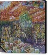 Flower Shop - Amsterdam Canvas Print