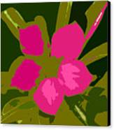 Flower Work Number 17 Canvas Print