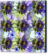 Flowers On The Wall Canvas Print by Betsy Knapp