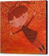 Flying Fredericka Canvas Print