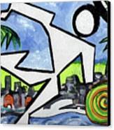 Flyingboyeee Canvas Print
