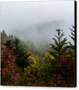 Fog And Drizzle. Canvas Print