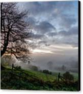 Fog Rolled In Canvas Print