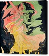 Folies Bergeres Canvas Print by Jules Cheret