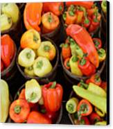 Food - Peppers Canvas Print by Paul Ward