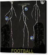 Football Universe Canvas Print