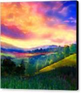 Foothills Canvas Print
