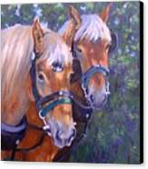 For Hire Canvas Print by Debra Mickelson