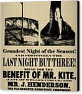 For The Benefit Of Mr Kite Canvas Print by Bill Cannon
