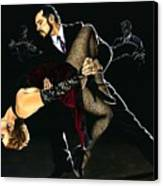 For The Love Of Tango Canvas Print by Richard Young