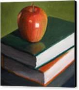 For The Teacher Canvas Print
