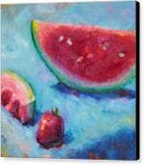 Forbidden Fruit Canvas Print by Talya Johnson