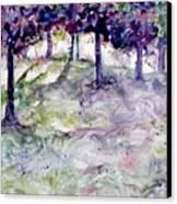 Forest Fantasy Canvas Print by Jan Bennicoff