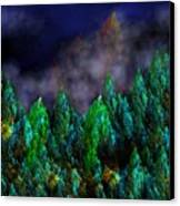 Forest Primeval Canvas Print by David Lane