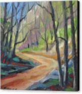 Forest Way Canvas Print