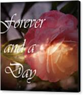 Forever And A Day Canvas Print