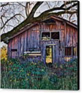 Forgotten Barn Canvas Print