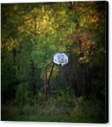Forgotten Hoop Canvas Print by Michael L Kimble