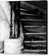Forgotten Stairs Canvas Print by Georgia Fowler