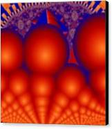 Formation Of Red Orbs Canvas Print