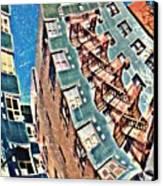 Fort Washington Avenue Building Canvas Print