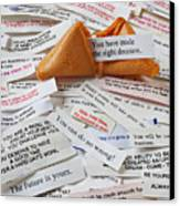Fortune Cookie Sayings  Canvas Print