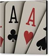 Four Aces Studio Canvas Print by Darren Greenwood