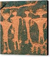 Four Anasazi Canvas Print