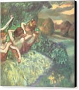 Four Dancers Canvas Print