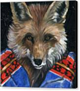 Fox Medicine Canvas Print