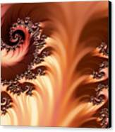 Fractal Desert Canvas Print