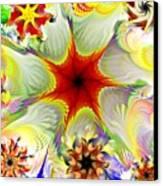 Fractal Garden 9 Canvas Print