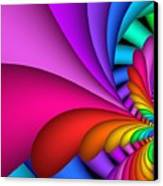 Fractalized Colors -2- Canvas Print by Issabild -