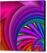 Fractalized Colors -3- Canvas Print by Issabild -