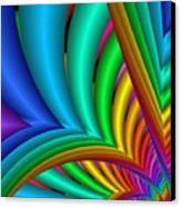 Fractalized Colors -4- Canvas Print by Issabild -