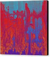Fractures Version 1 Canvas Print