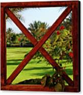 Frame I Canvas Print by Chaza Abou El Khair